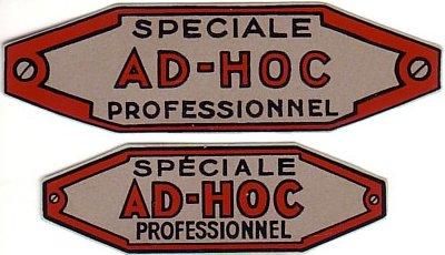 AD-HOC PROFESSIONNEL