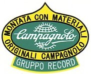 Campagnolo RECORD group 1960's