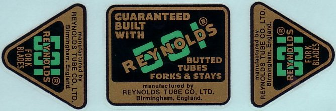 REYNOLDS 531 early 1970's