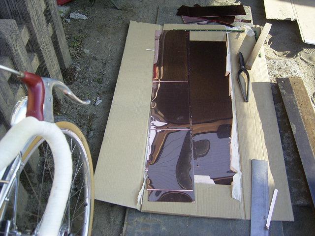 遷蕎館の銅板