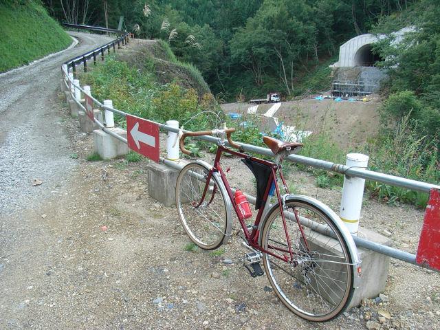 唐沢トンネルの工事
