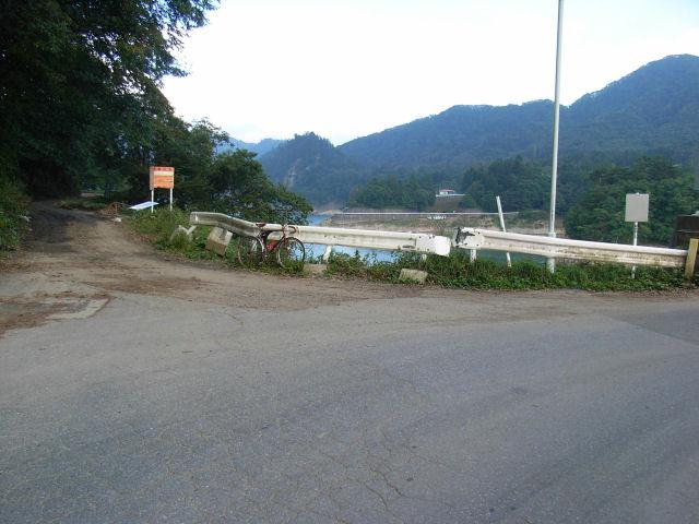 林道檜枝岐川俣線 川俣側入口